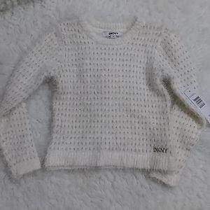 New DKNY  Sweater LITTLE GIRLS SIZE 5